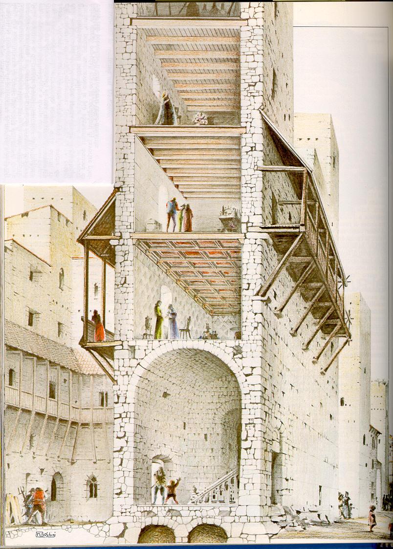 Abitazioni for Immagini di case antiche